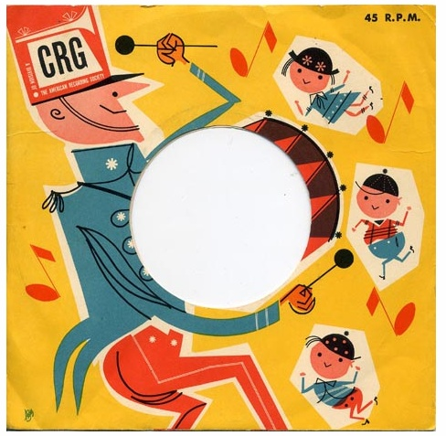CRG 45 record sleeve