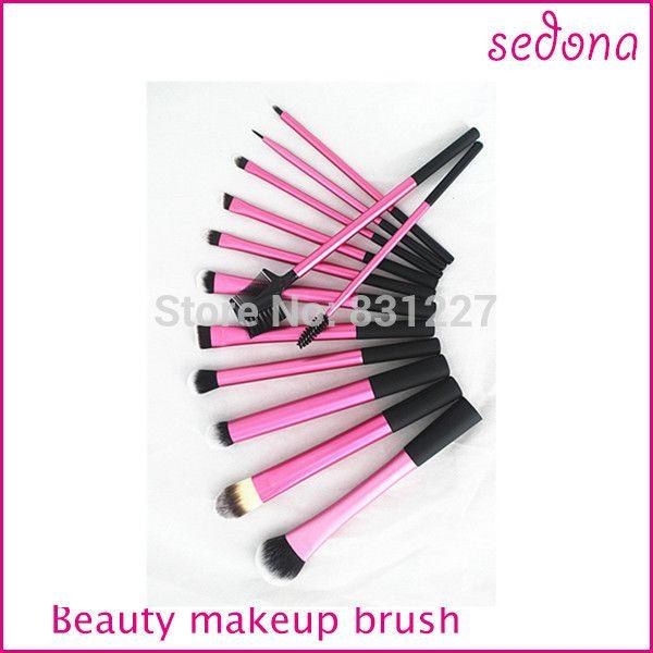 13 pcs rose Super doux Taklon cheveux maquillage brosse professionnelle de base Kit dans Brosses et instruments de maquillage de Health & Beauty sur AliExpress.com | Alibaba Group