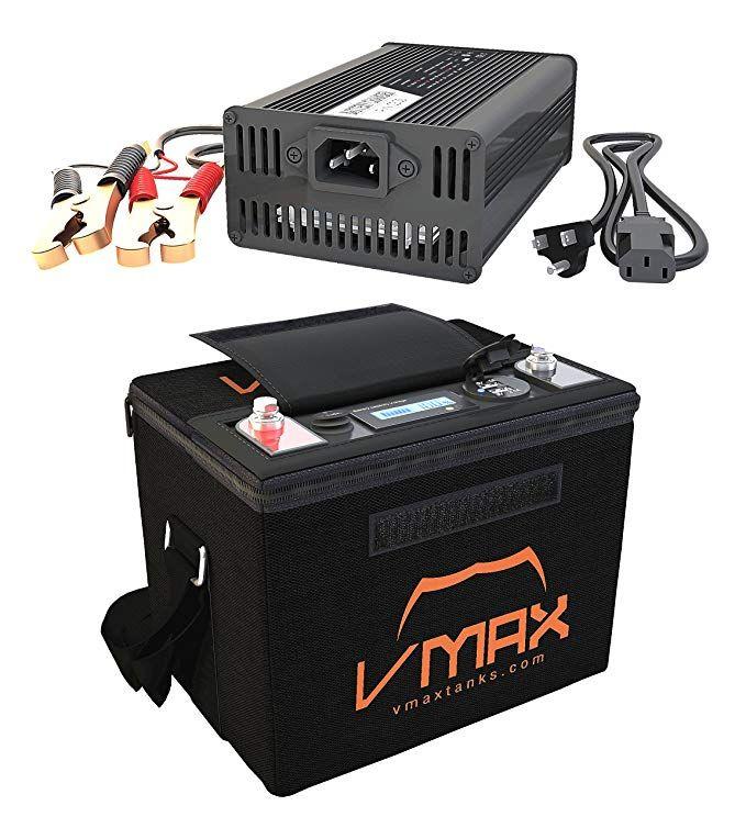 Vmax Vpg12c 50lfp Lithium Iron 50ah 12v U1 Battery For Outsunny Transom 55lb Trolling Motor Lifepo4 16 8v Char Deep Cycle Battery Power Generator Car Battery