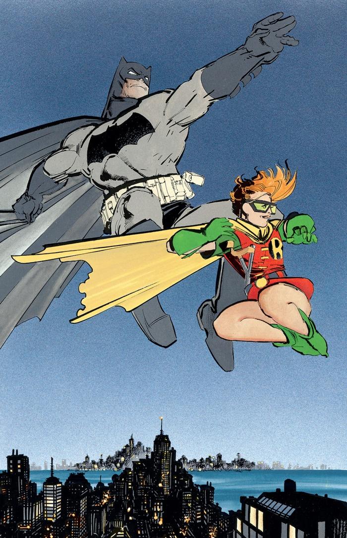 Batman: The Dark Knight Returns. Definitely my favorite Batman and Robin ::)