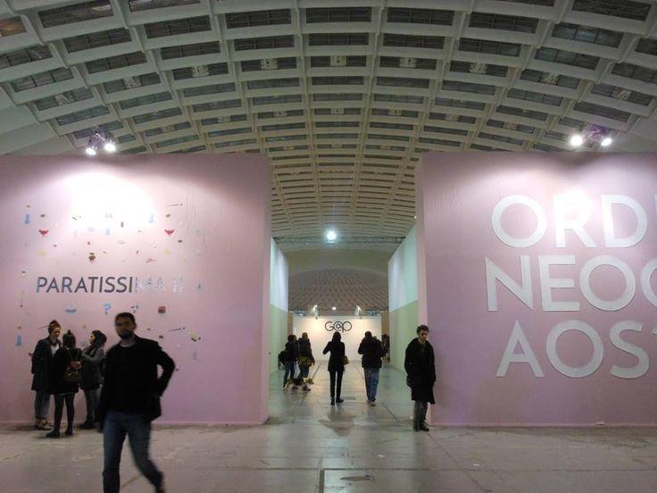 Paratissima, salone delle esposizioni, Torino