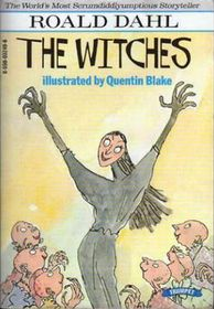"""This Roald Dahl classic tells the scary, funny and imaginative tale of a seven-year-old boy who has a run-in with some real-life witches! """"In fairy tales witches always wear silly black hats and black cloaks and they ride on broomsticks. But this is not a fairy tale."""