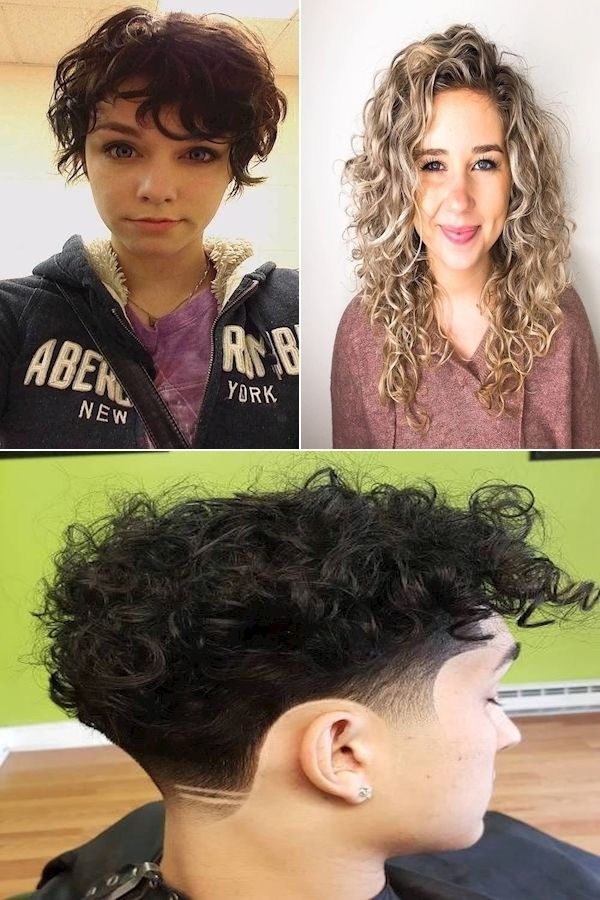 New Haircut For Curly Hair 2016 Wavy Hair Girl Handling Curly Hair In 2021 Haircuts For Curly Hair Hair Styles 2016 Curly Hair Styles