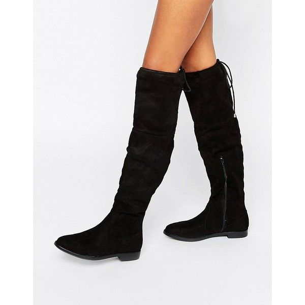 1000 ideas about thigh high boots flat on