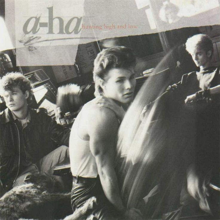 A-HA, Hunting High and Low, 1986