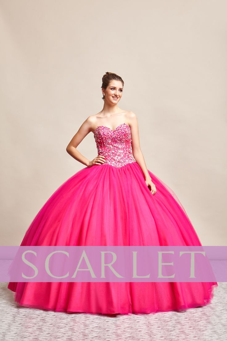 54 best VESTIDOS 15 años images on Pinterest | Scarlet, Budget and ...