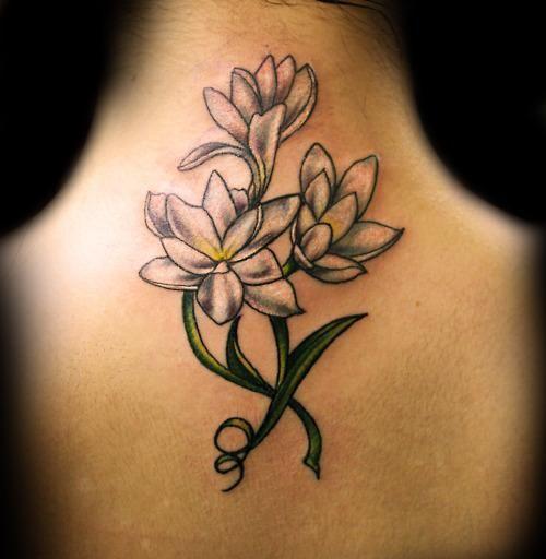 Feminine Cross Tattoos   Flower feminine tattoo, flowers, femenine tattoo, tattoos, tattoo ...
