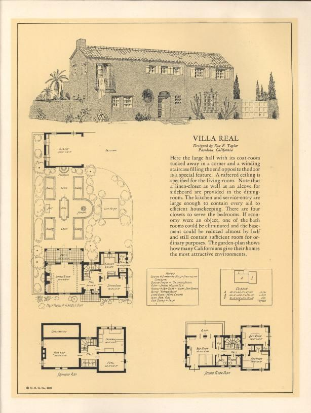 598 best historic plans images on pinterest | vintage houses