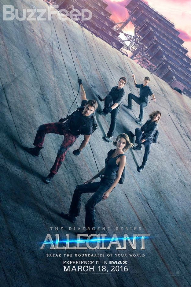 Just watched ALLEGIANT, and now I have to spend a whole year to prepare my tears for part 2: ASCENDANT  Don't know if I'll ever be ready though