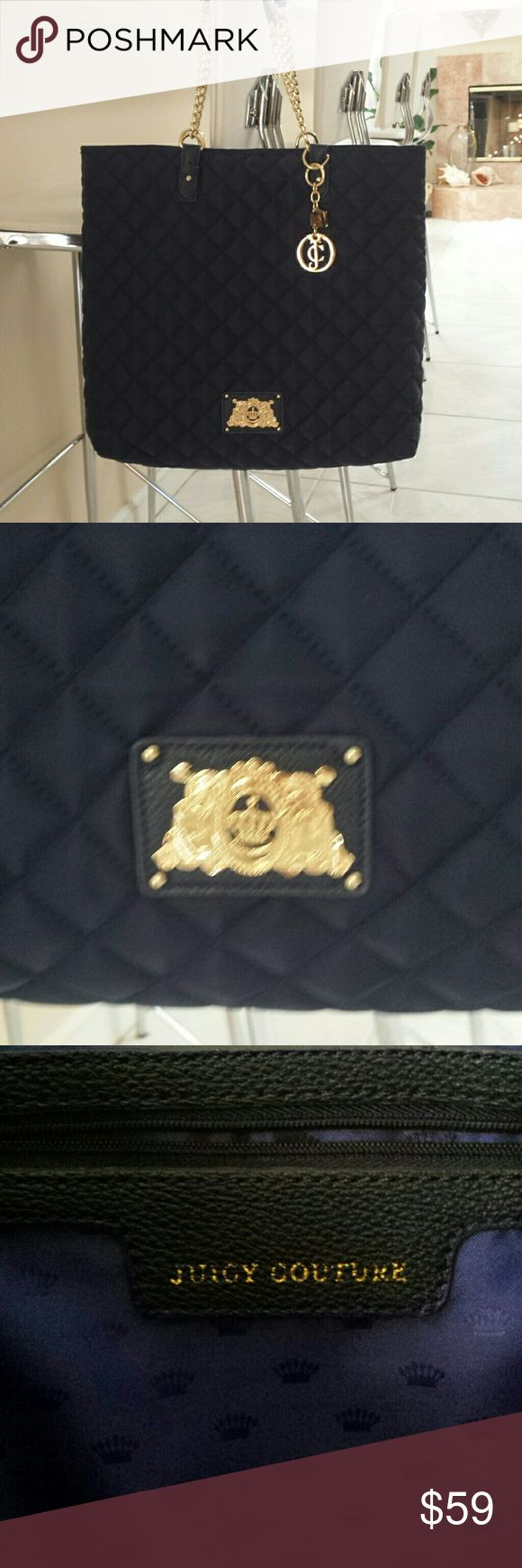 Juicy couture Navy blue quilted purse Juicy Couture Bags Shoulder Bags