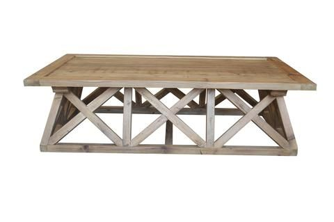 Trestle Recycled Pine Coffee Table