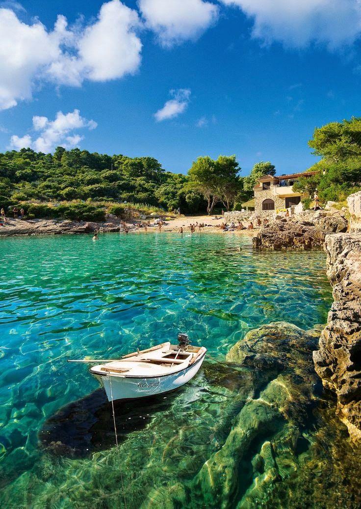 Zitna bay, Korcula, Croatia.