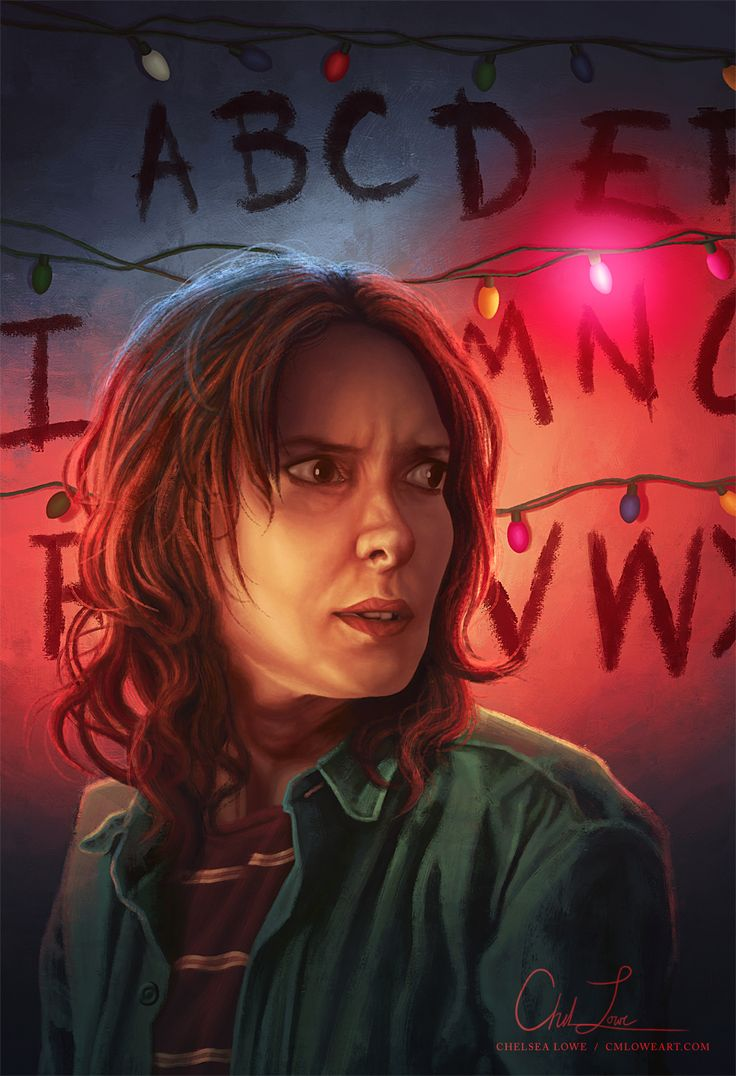 """Joyce Byers from Stranger Things by Chelsea Lowe - """"Maybe I am a mess. Maybe I'm crazy. Maybe I'm out of my mind! But, God help me, I will keep these lights up until the day I die if I think there's a chance that Will's still out there!"""""""