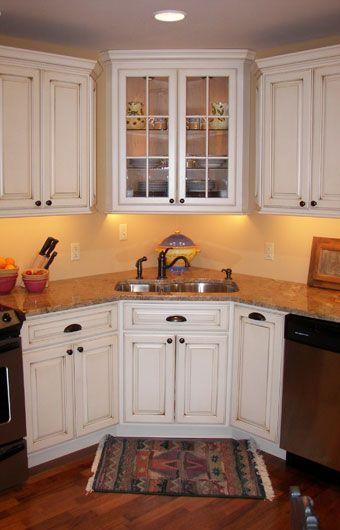 9 Best Kitchen W/Corner Sink (Ideas) Images On Pinterest