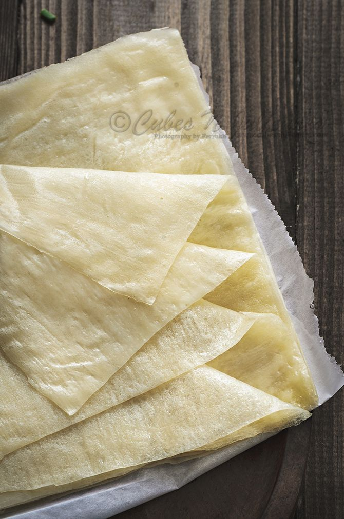 Each step in detail with pictures, do's and don'ts to make best ever homemade spring roll wrappers.Now, no more store bought wrappers required. A must try