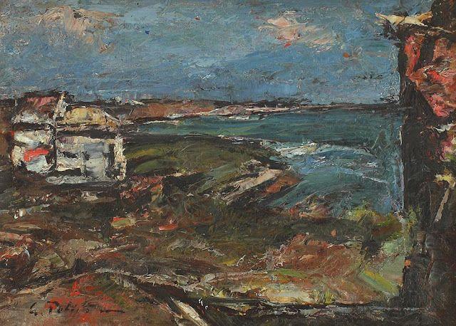 Peisaj la malul mării