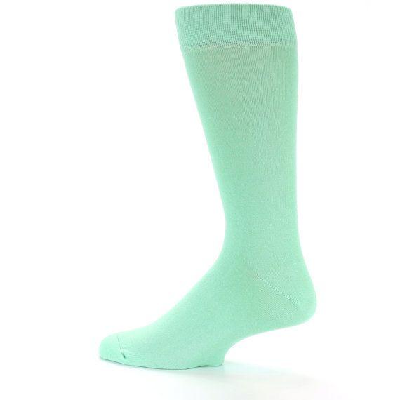 Minze Spezial Farbe Bräutigam Trauzeugen Socken von GroomSocks