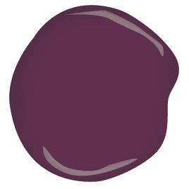 Benjamin Moore Elderberry Wine CSP-470 Take a deep drink of this rich, intoxicating wine.