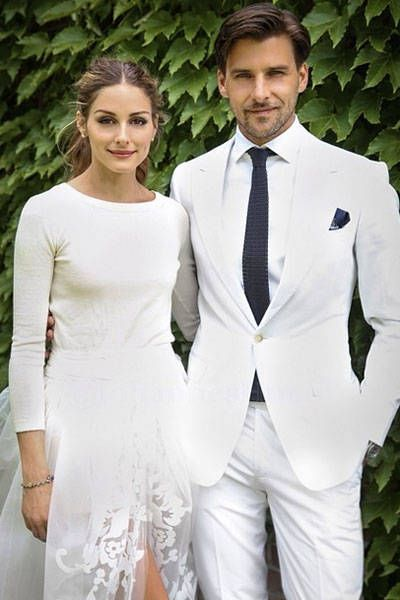 The 15 BEST celebrity weddings of 2014: Olivia Palermo and Johannes Huebl