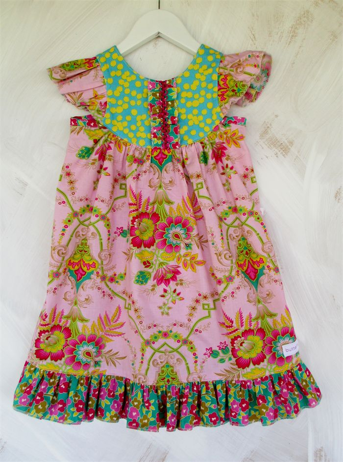 #Size4  #availablenow  @Jennifer Paganelli #jenniferpaganelli  Butterfly Dress in Lucky Girl