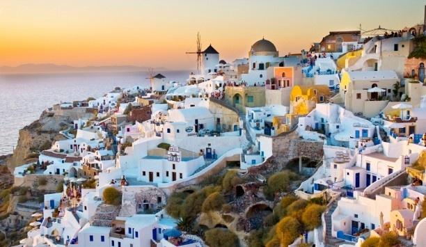 Santorini, GreeceBuckets Lists, Santorini Greece, Dreams Places, Dreams Vacations, Sunsets, Wedding Anniversaries, Travel, Greek Islands, Honeymoons Destinations