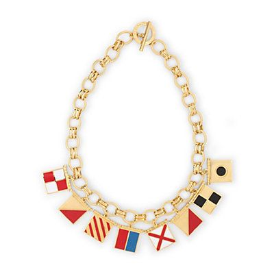 Love this Nautical Flags Charm Necklace