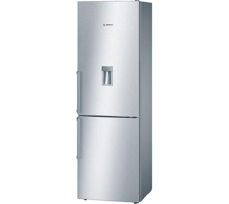 549 - BOSCH Serie 4 KGD36VI30G Fridge Freezer - Silver