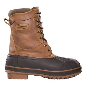 LaCrosse Ice King Insulated Pac Boots for Men - Brown - 12 M