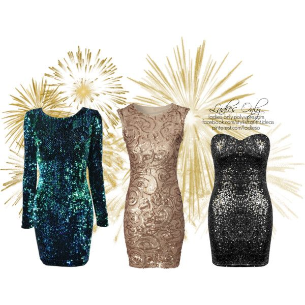 """""""new year sparkle"""" by ladies-only on Polyvore"""