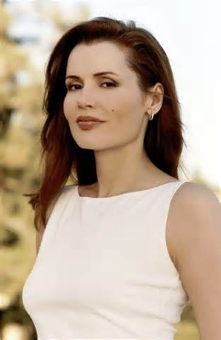 Geena Davis. Somebody get me a glass, 'cause I just found me a tall drink of water!