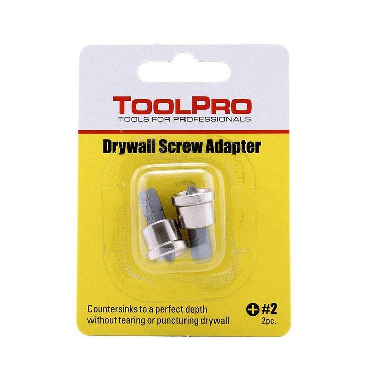 Drywall Screw Adapter (2-Piece)