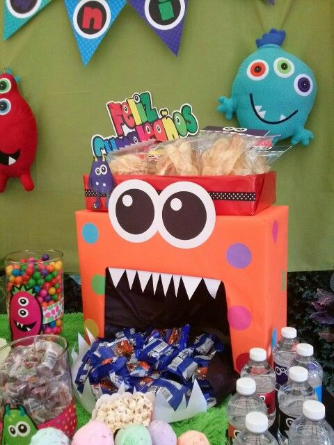 Candy bar monstruos