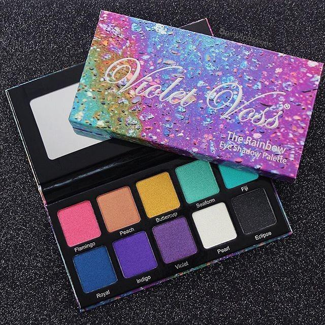 Violet Voss Rainbow Palette Rainbow Eyeshadow Rainbow Palette