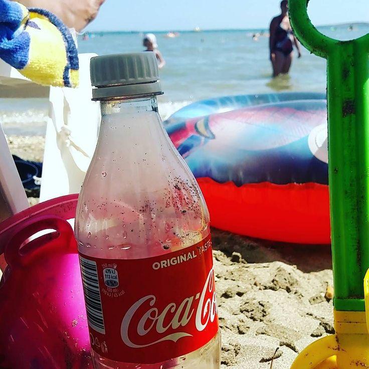 #vakáció #nyár #strand #cola #coke #cocacola #medulin #tenger