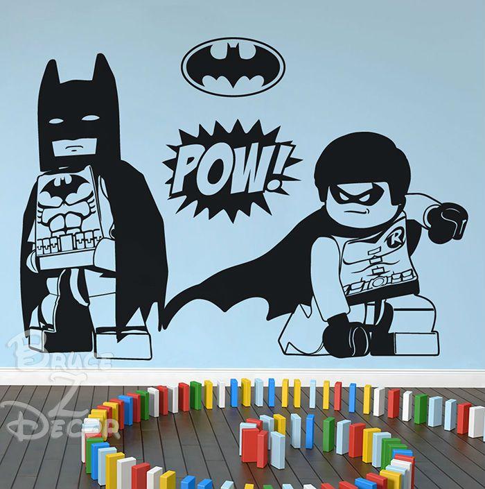 [BZD] gratis Verzending Woondecoratie Batman & Robin Art Decals Home Decor Vinyl Muurstickers voor Kinderen Kamers 100x139 cm in Van harte welkom om bruce z. DecorB. Z. D gratis verzending huisdecoratie batman& robin art stickers home decor v van muurstickers op AliExpress.com   Alibaba Groep