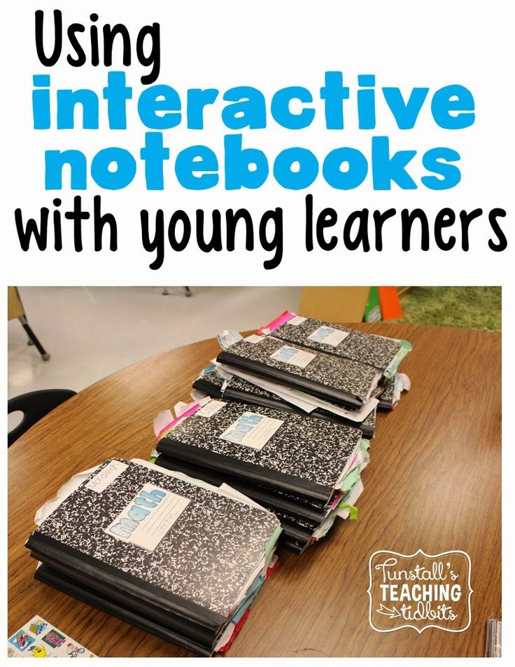 Interactive Notebooks and Young Learners