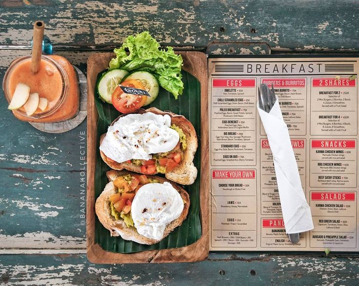 #Bali. Looking for good breakfast around #Nakula #Seminyak? Try this Eggs On Avo (75K) at @KarmaKafeBali. The taste of their poached eggs smashed avo & cherry tomatoes are boosting my morning mood