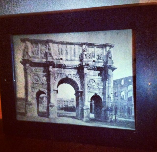 Woodruff Place Flea Market- Print of the entrance to Old Rome