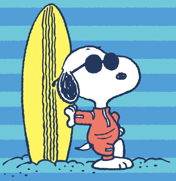 surfer snoopy