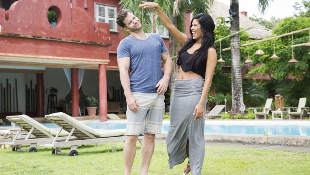 """Johnny """"Bananas"""" and Nany on The Challenge: Battle of the Exes 2"""