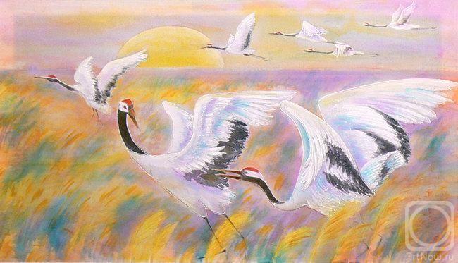 Smaglii Svetlana. Cranes