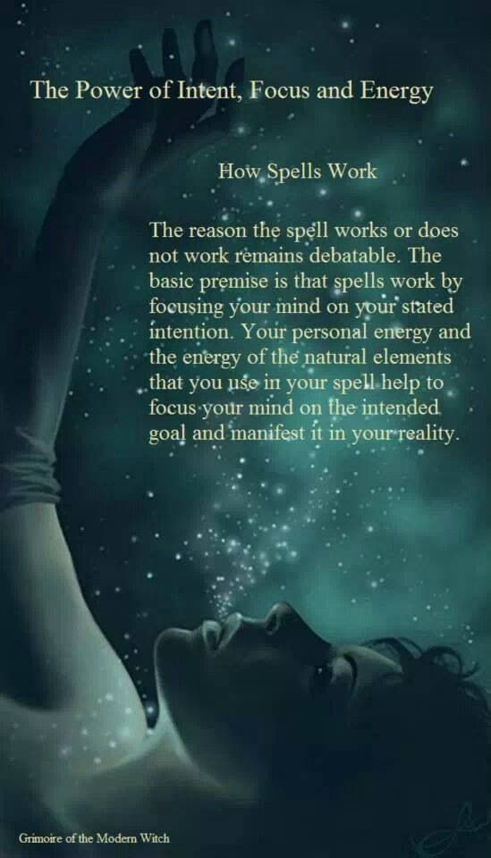 I focus on this as I prepare to work a spell. It helps me visualize.