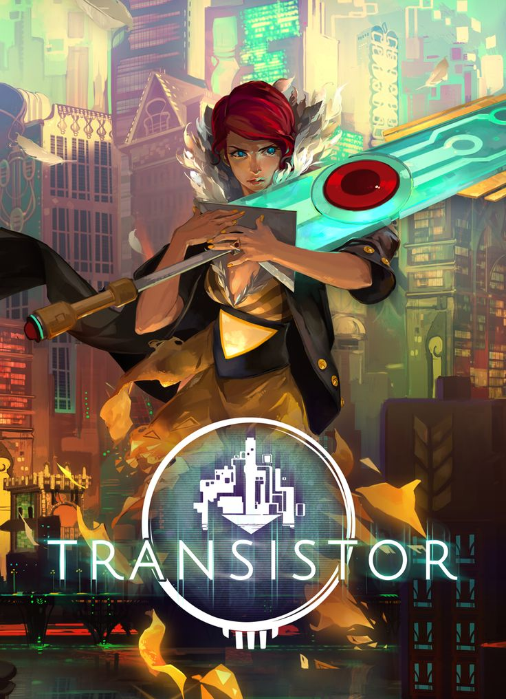 TRANSISTOR, the next game by the indie devs that brought us BASTION. So excited for this!