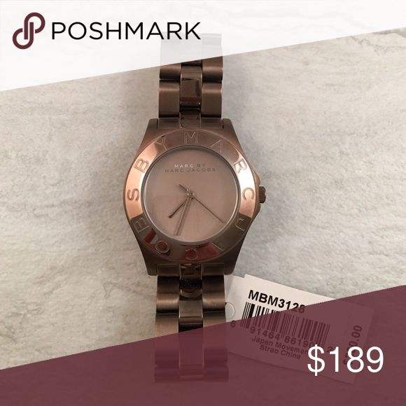 Selling this NEW Marc Jacobs Womens Brown Watch MBM3128 on Poshmark! My username is: barongoods. #shopmycloset #poshmark #fashion #shopping #style #forsale #Marc by Marc Jacobs #Accessories