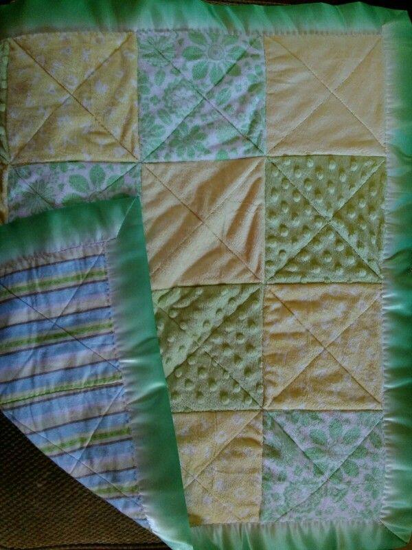 Nancy Morgans grandbaby quilt for Jacqui