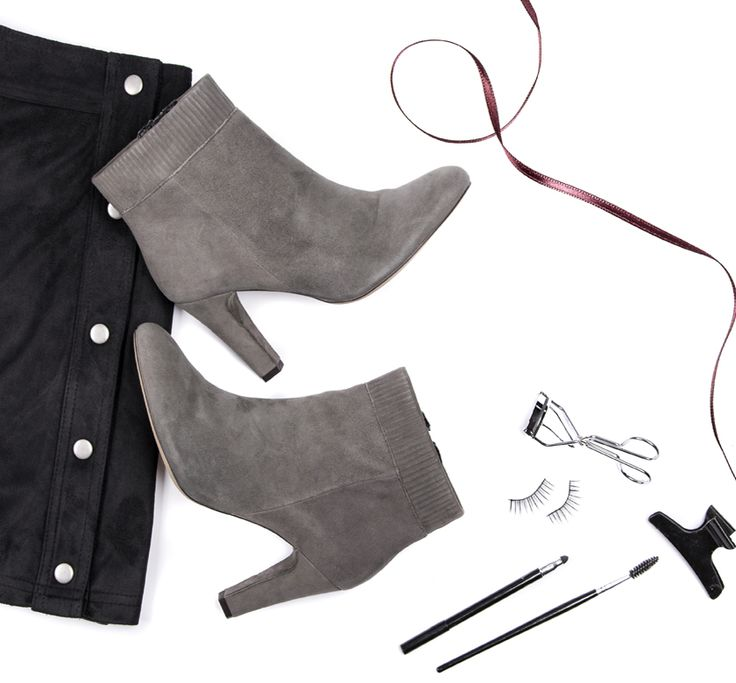 SPM PALONA COVERED ANKLE BOOT grey ankle boot
