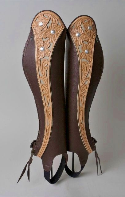 Custom Half Chaps By Pinnell Leather