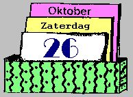 eeuwig durende kalender maken