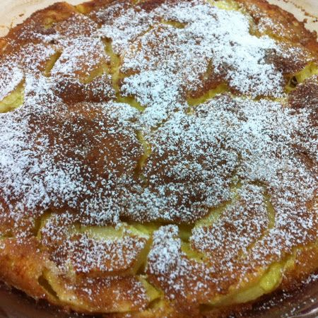 The German's know their stuff! Check out these #German #apple #pancakes