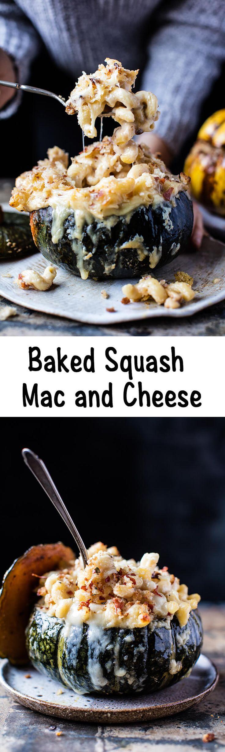 Baked Squash Mac and Cheese | halfbakedharvest.com @hbharvest